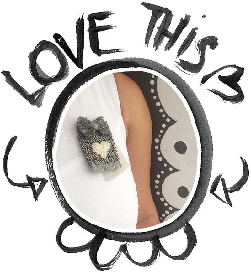 cornel's valentine's brooch