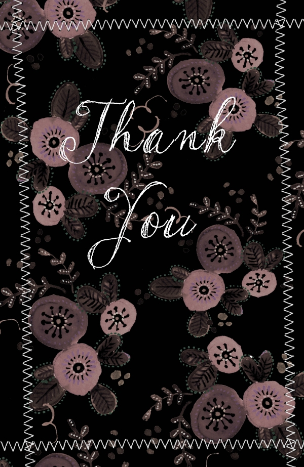 Thank you by Elsbeth