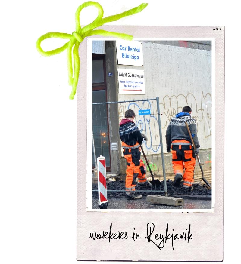 workers in Reykjavik