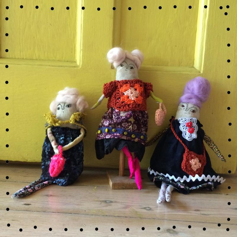 art doll by Elsbeth Eksteen