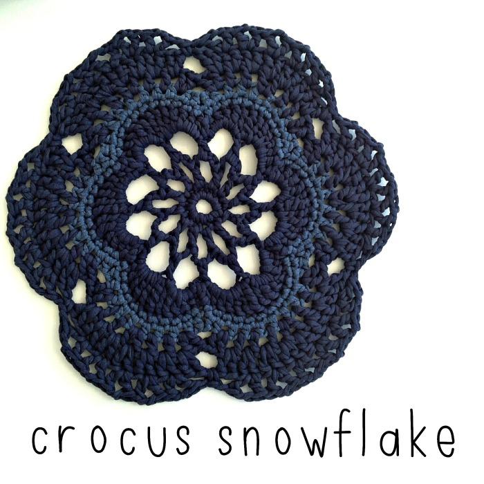 Crocus Snowflake
