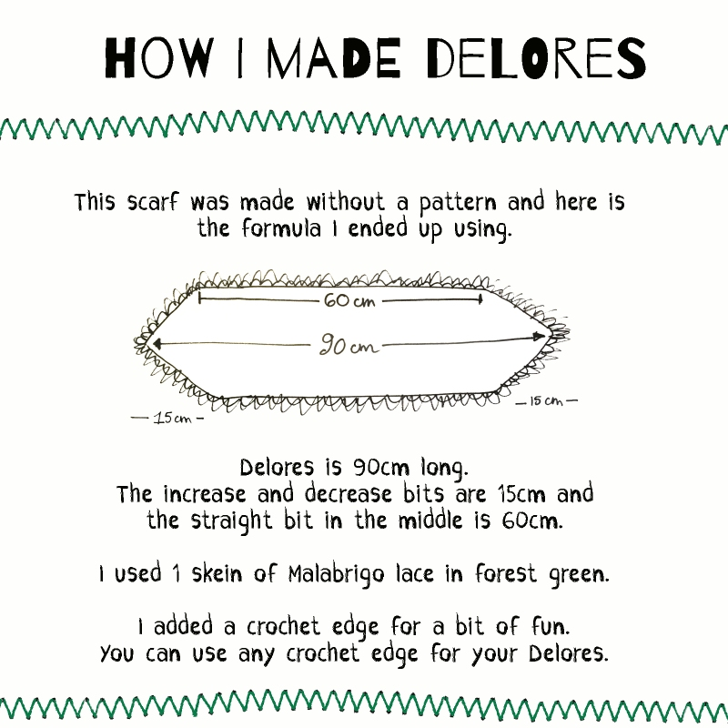 pattern for Delores by Elsbeth