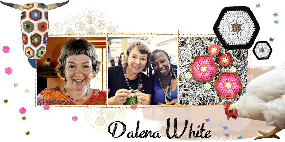 dalena white collage