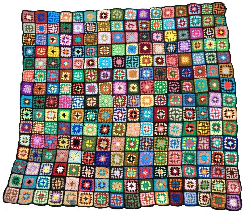 anisa granny square blanket