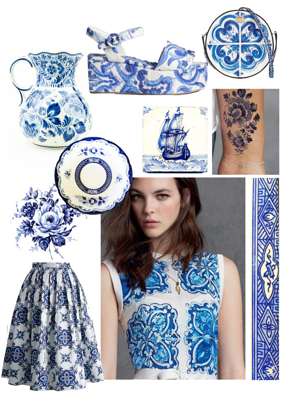 drooling over delft and majolica