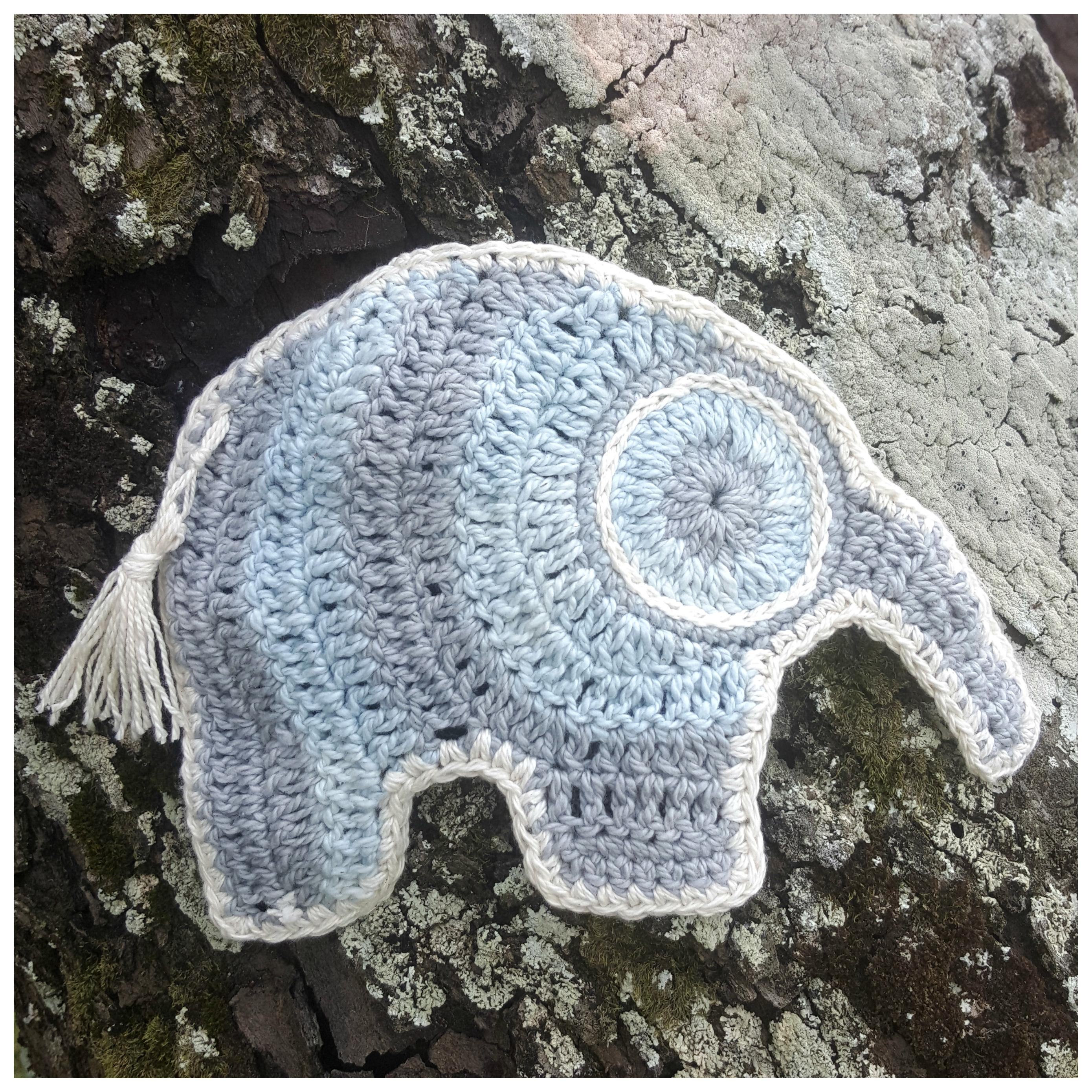 Crochet Elephant Border Take 2 Large Border - YouTube | 2779x2779